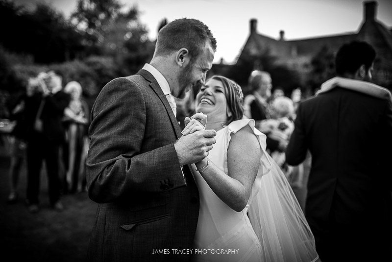 outdoor first dance at the white hart lydgate