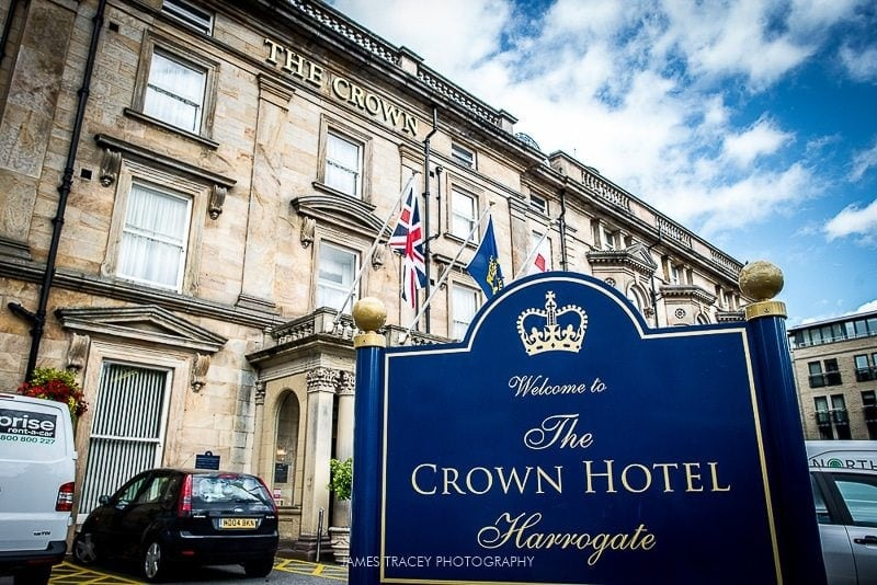 crown hotel sign