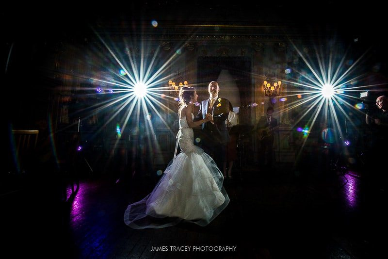 first dance at knowsley hall wedding