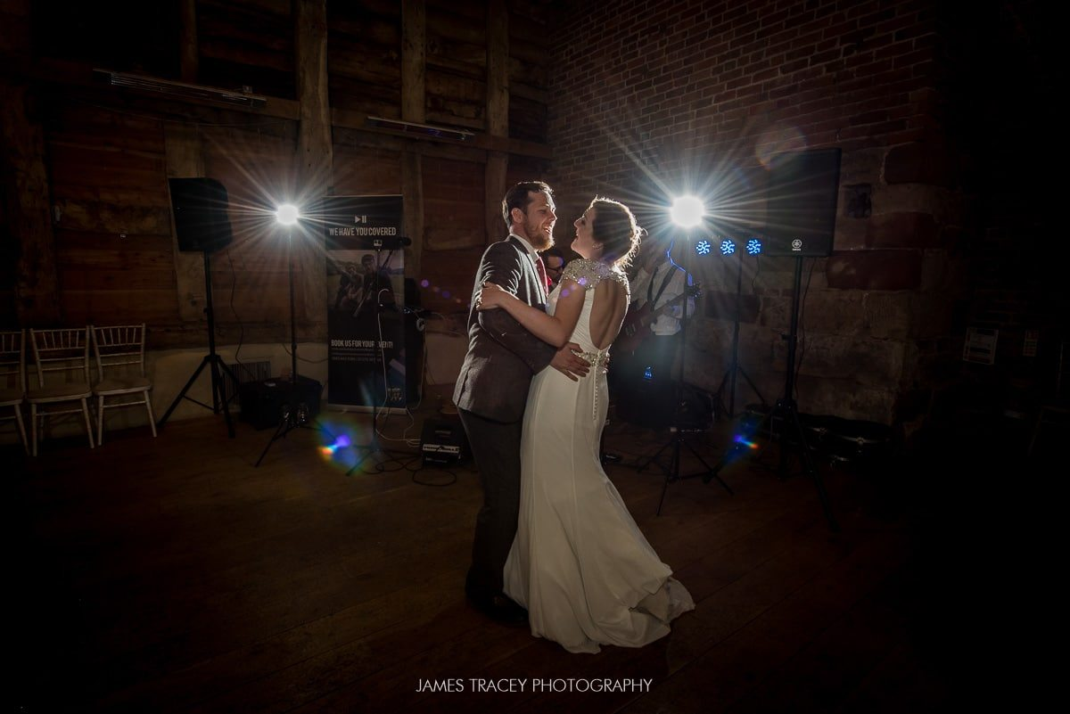 first dance at pimhill barn wedding