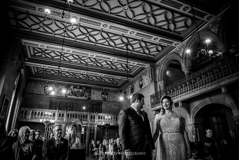 wedding at manchester town hall