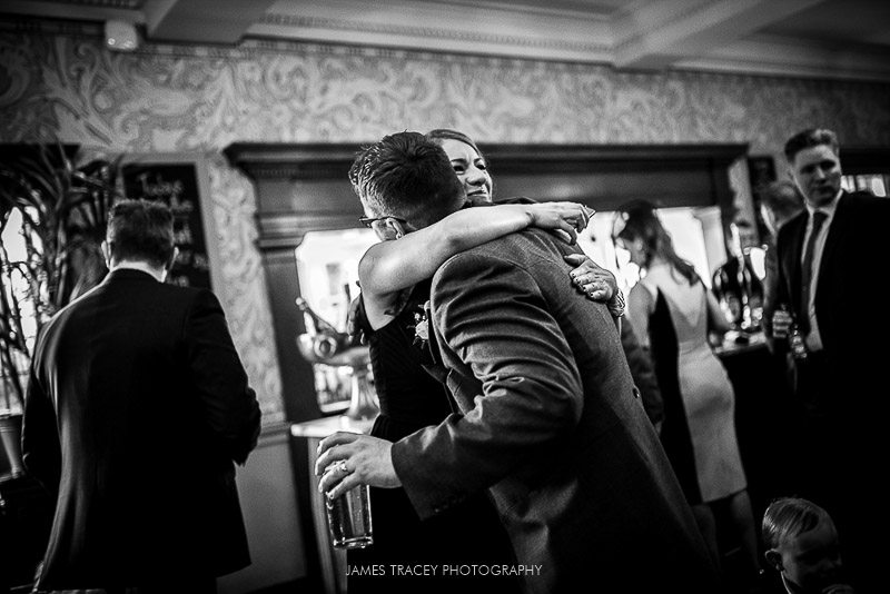 guests hugging
