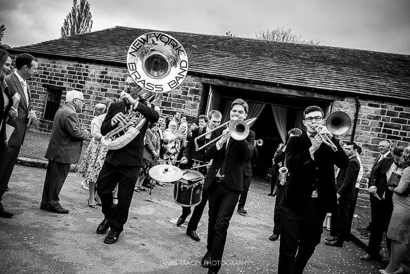 new york brass band at east riddleston hall