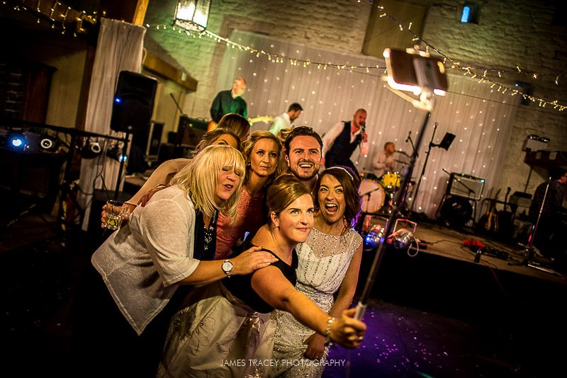 large selfie on dancefloor