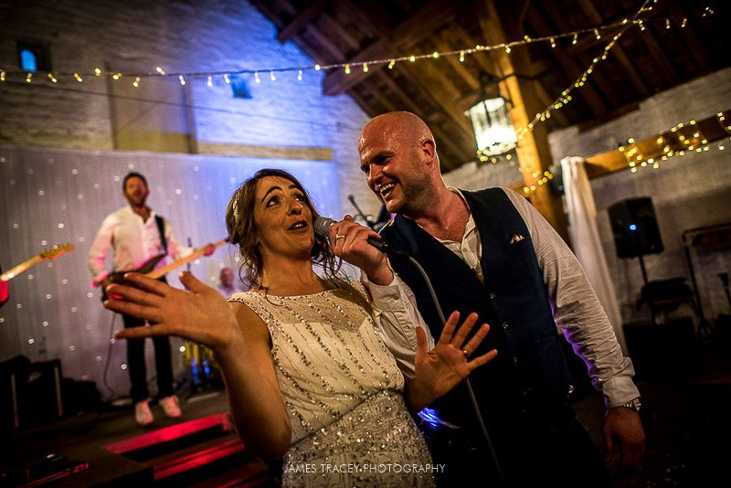 bride singing with tom rocks and the replicants