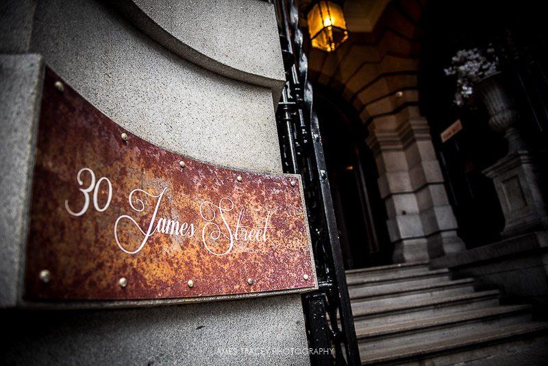 30 James Street Hotel Entrance