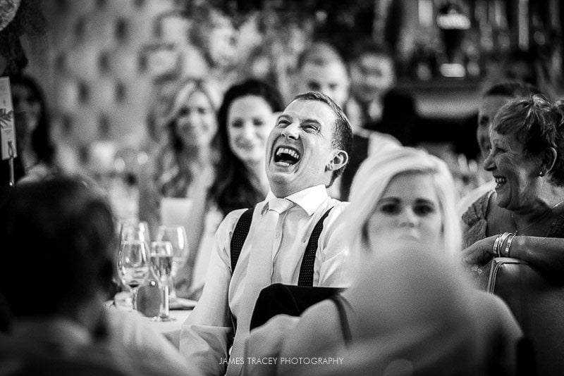 groom laughing again