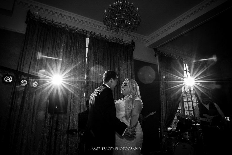 first dance at 30 james street wedding