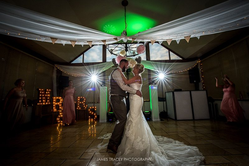 wider angle of first dance