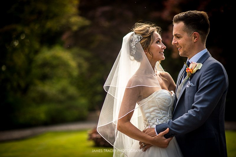 bridal portrait at eaves hall