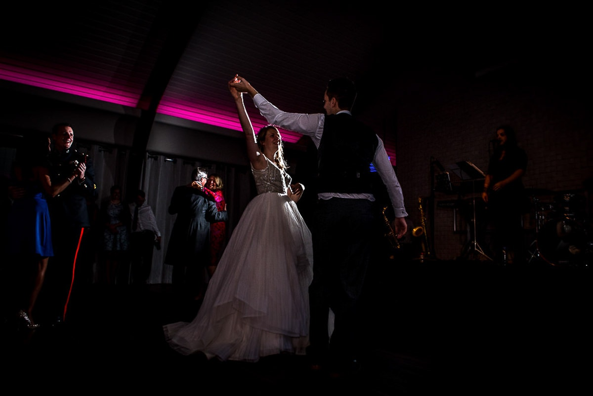 dramatic first dance at colshaw hall