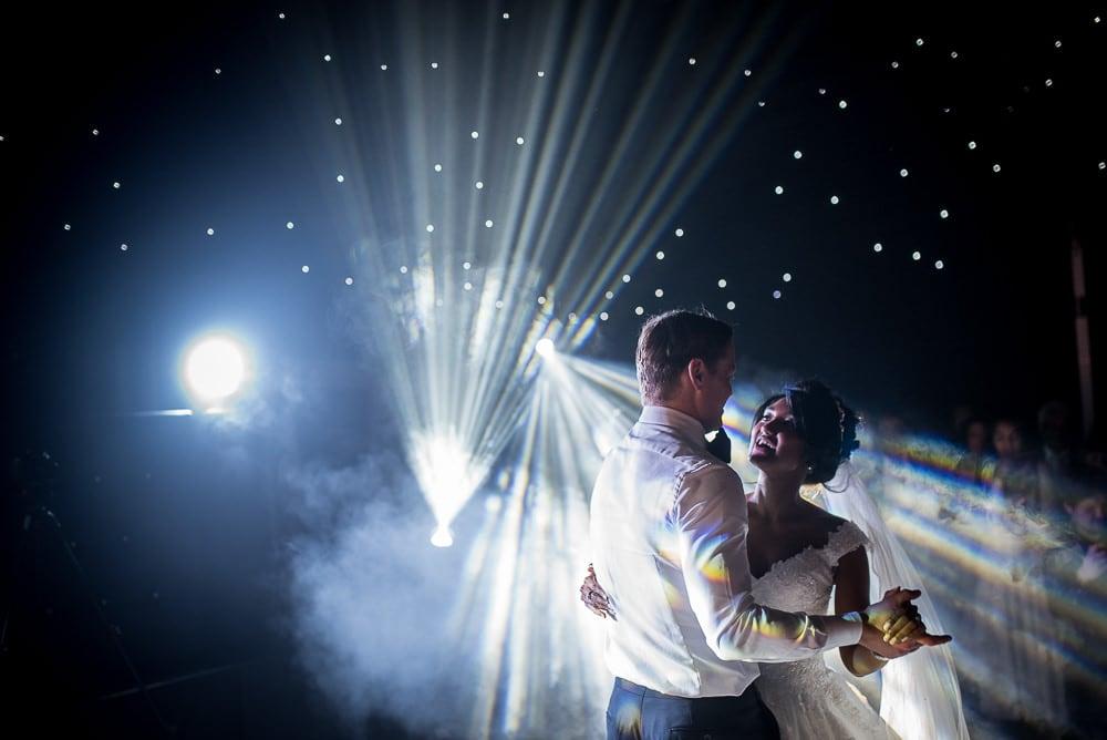 spectacular first dance photo at hillbark hotel