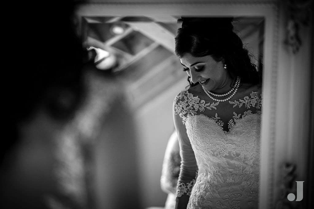 bride before her wedding
