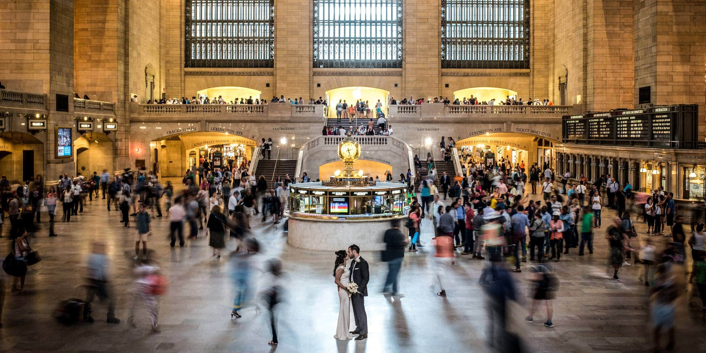 New York Grand Central Station James Tracey