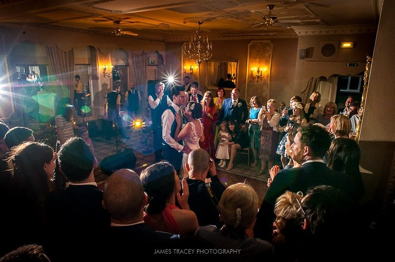 first dance at merewood country house wedding photography