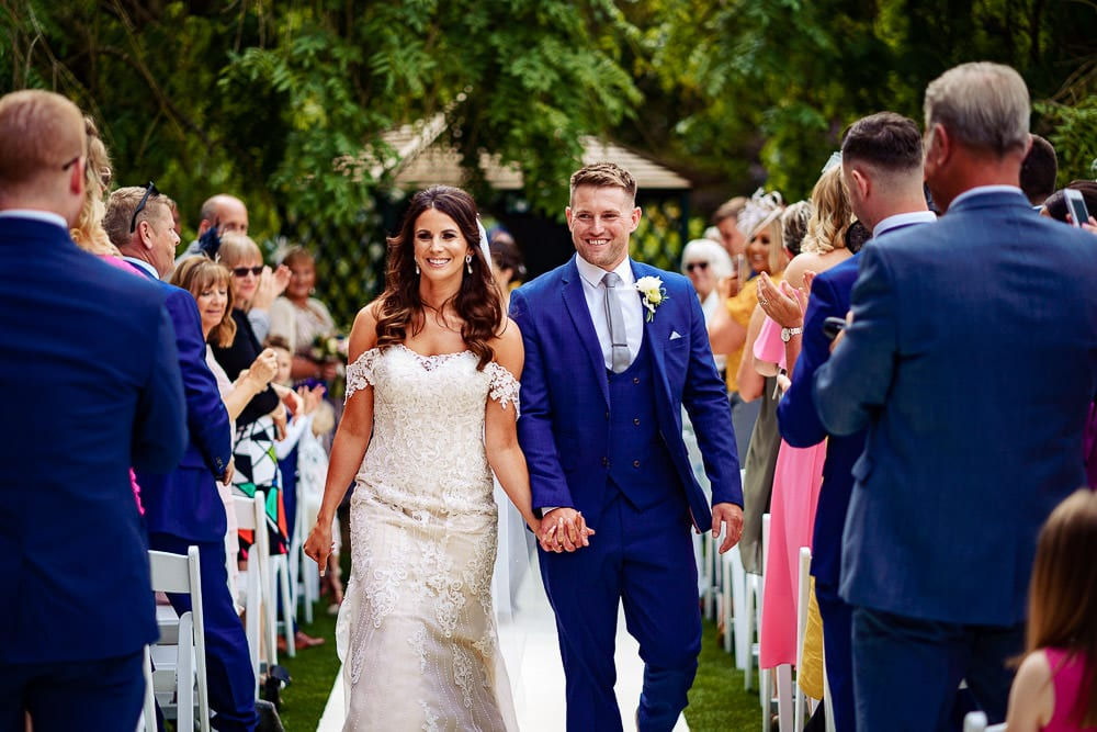 Holdsworth house outdoor wedding