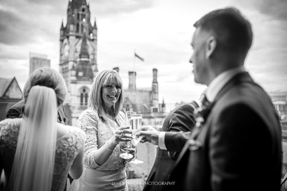 wedding guests at king street townhouse