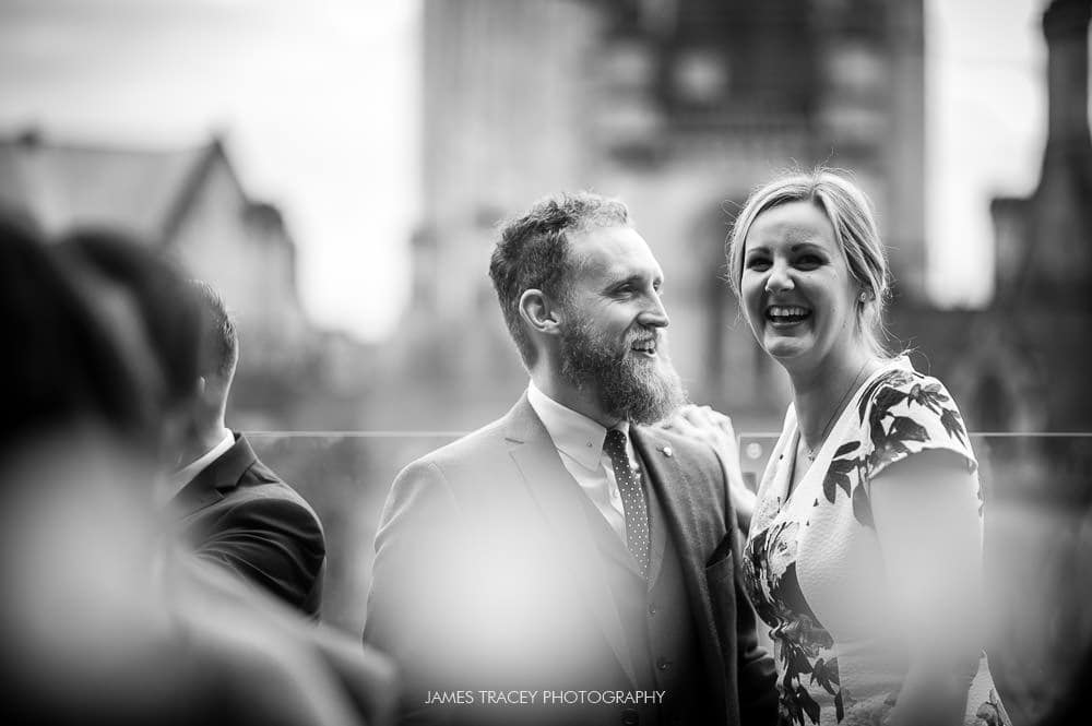 wedding guetss at king street townhouse