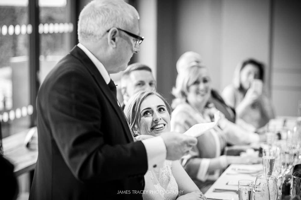 speeches at king street townhouse wedding