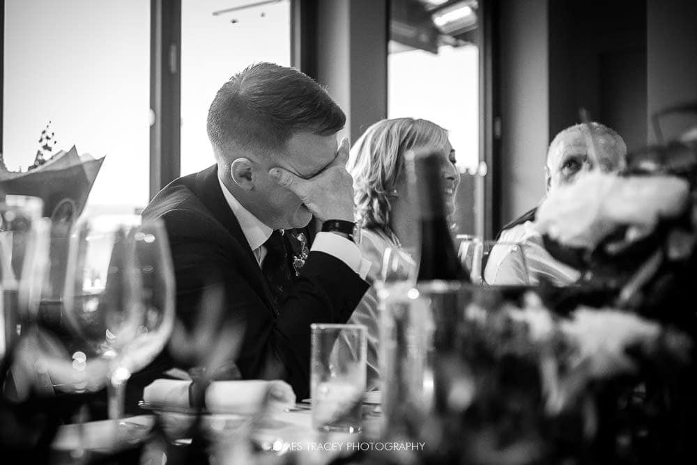 embarrassed groom at king street townhouse