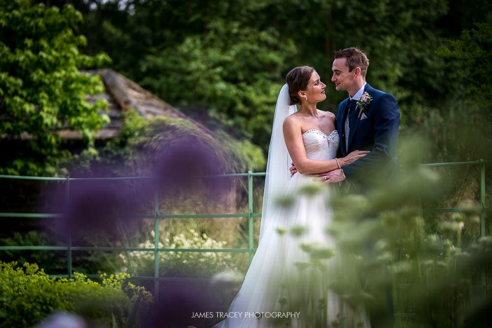 wedding couple in the mansion leeds gardens