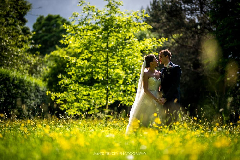 sunny wedding photo