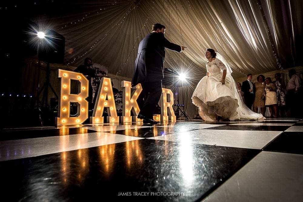 first dance in front of word is love signs