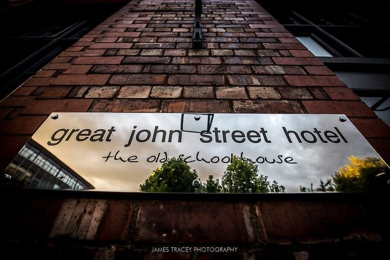 great john street hotel sign