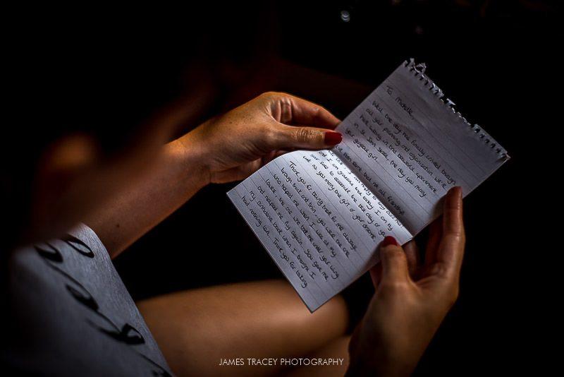 wedding letter