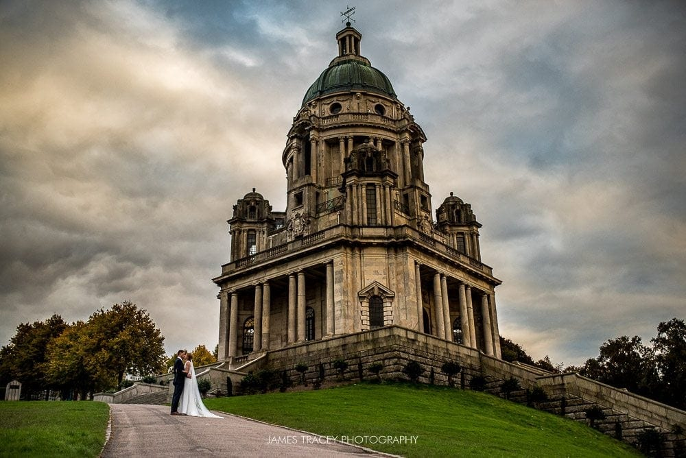 wide angle shot of ashton memorial