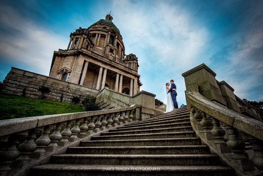 ashton memorial wedding photography