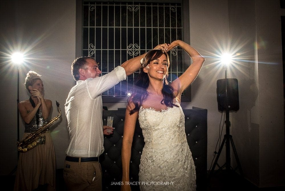 first dance at ibiza wedding
