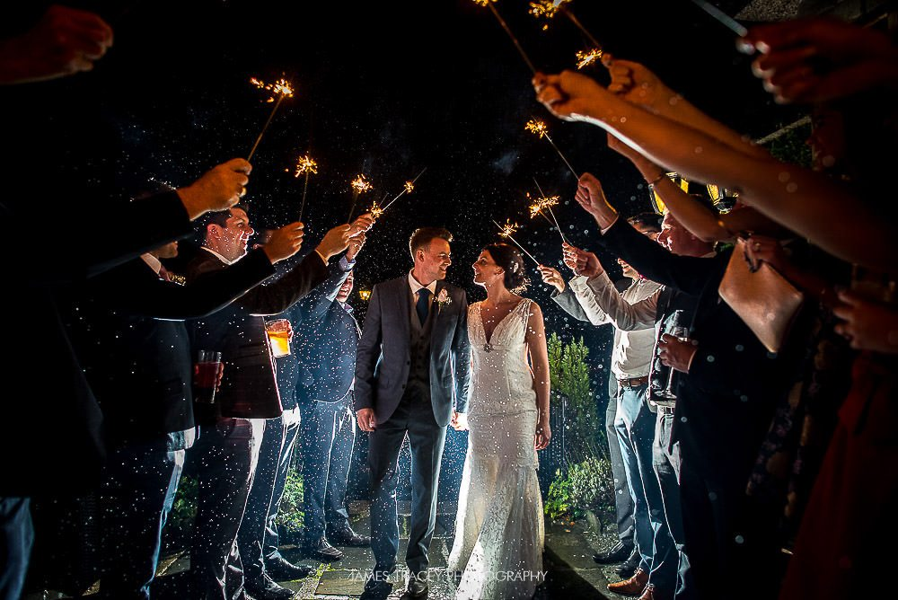 sparklers at broadoaks country house