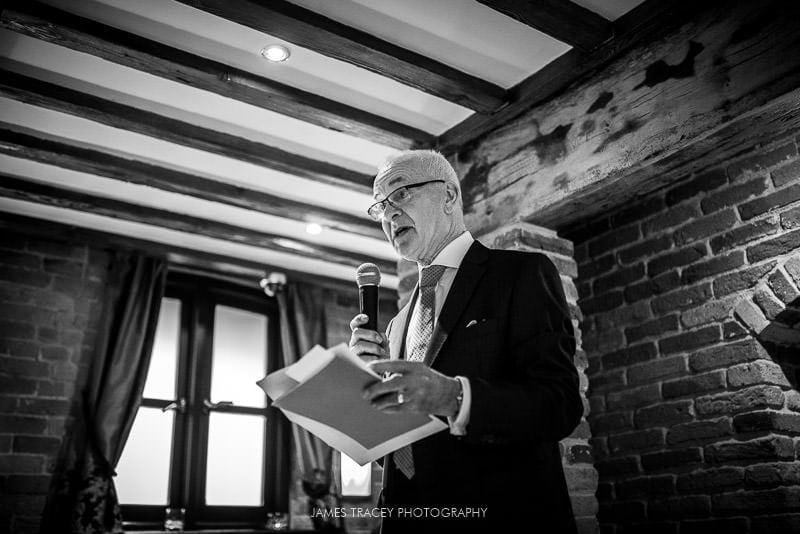 wedding speeches at swancar farm
