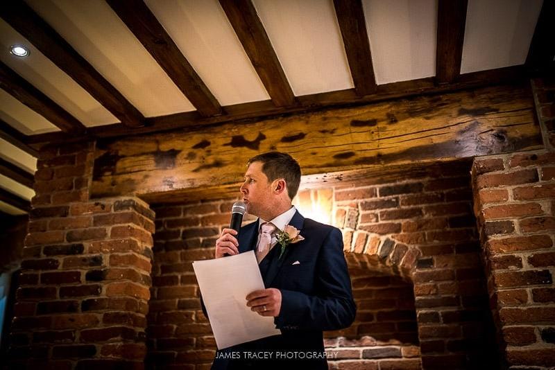 grooms speech