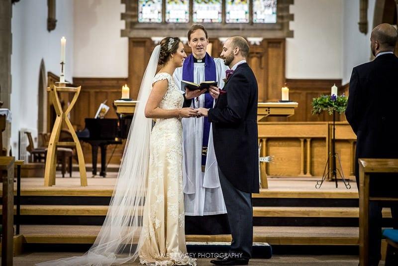 echange of wedding rings in leeds wedding