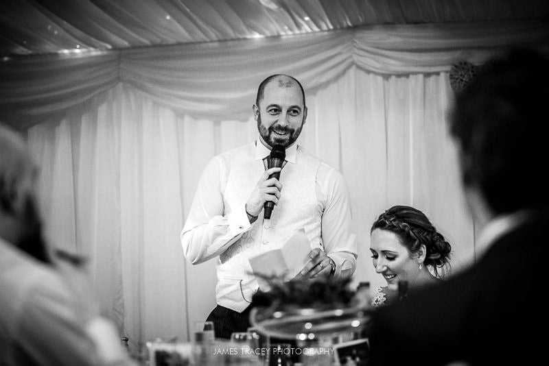 groom speech at woodlands hotel leeds