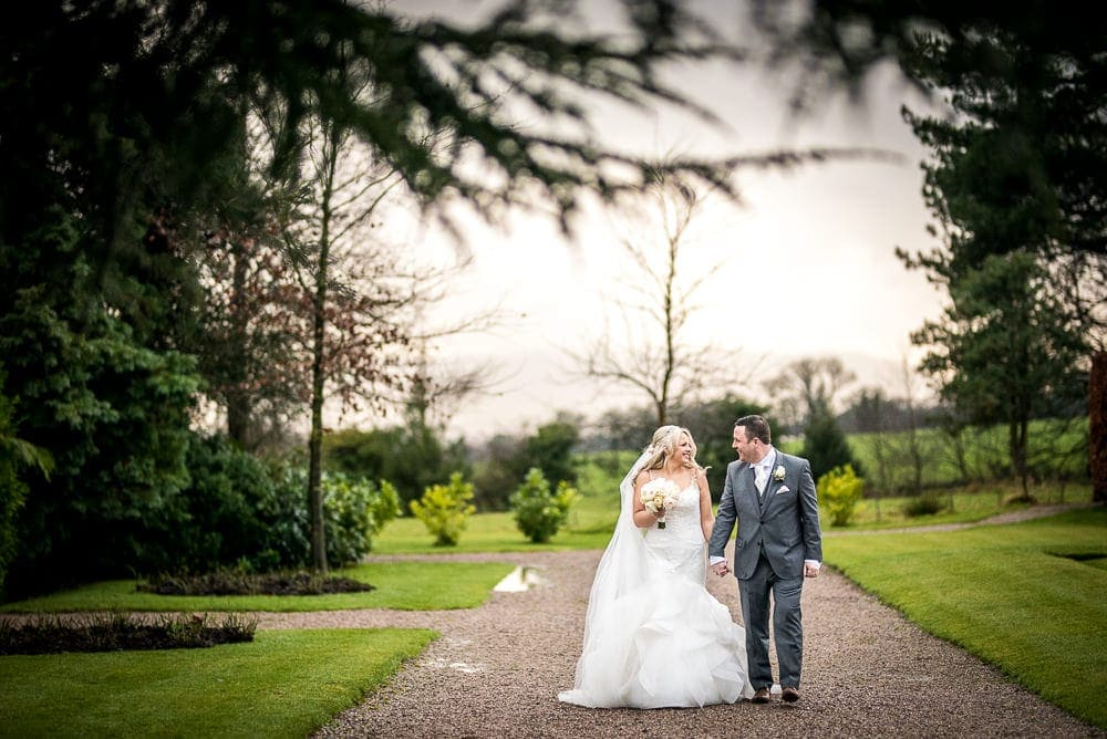 a winter wedding at eaves hall
