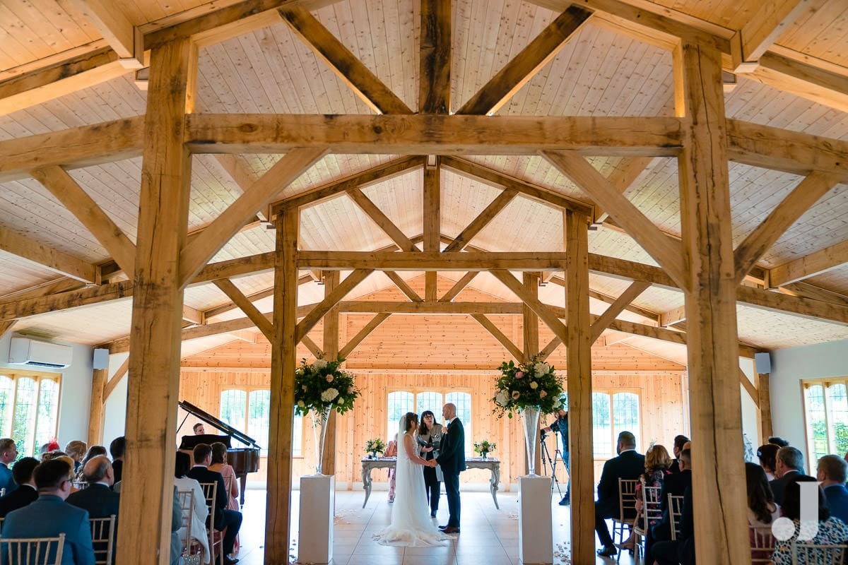 wide angle of the stables at merrydale manor