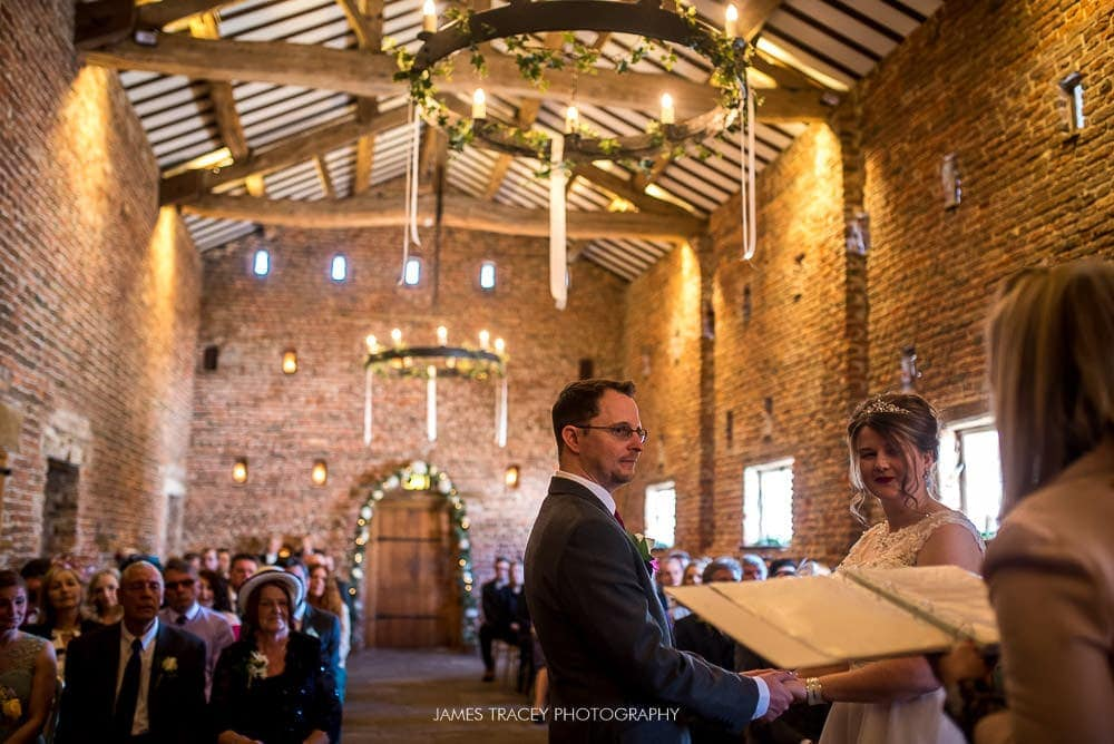 wedding photo inside meols hall southport