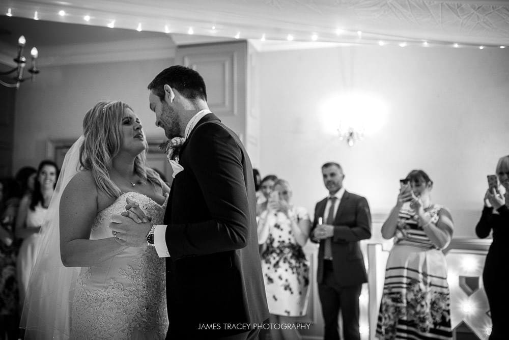 first dance at mottram hall
