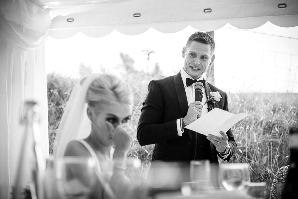 groom speech at upper house hayfield