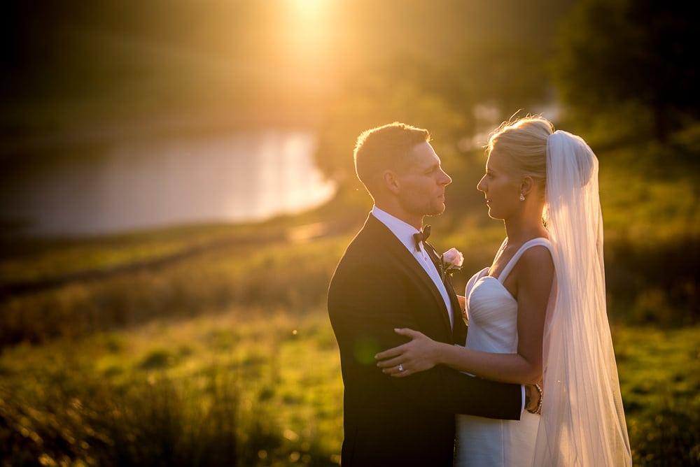 sunset couple photos at upper house hayfield