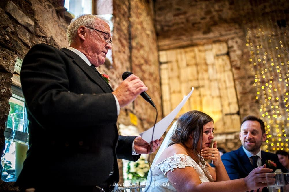 father of the bride speech at eden wedding barn