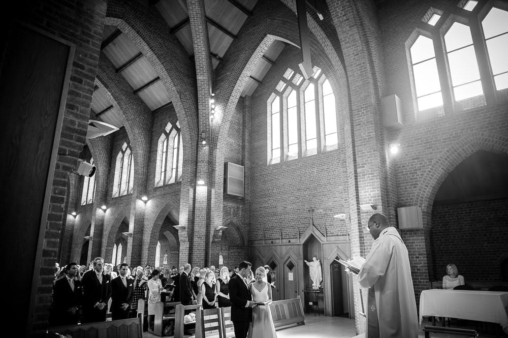wedding service in hale barns