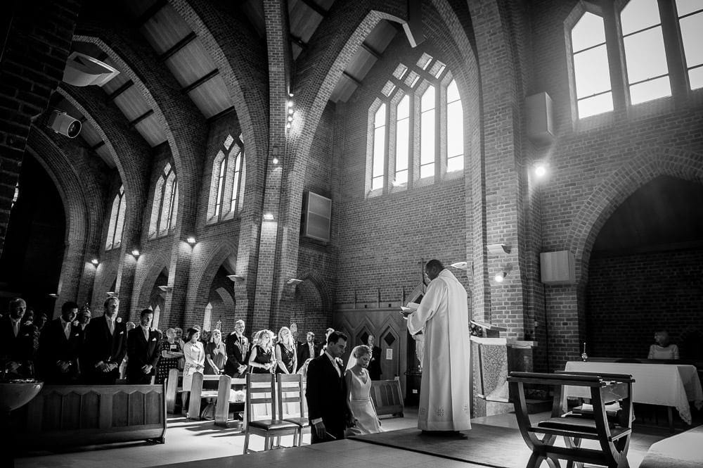 blessing in hale barns church