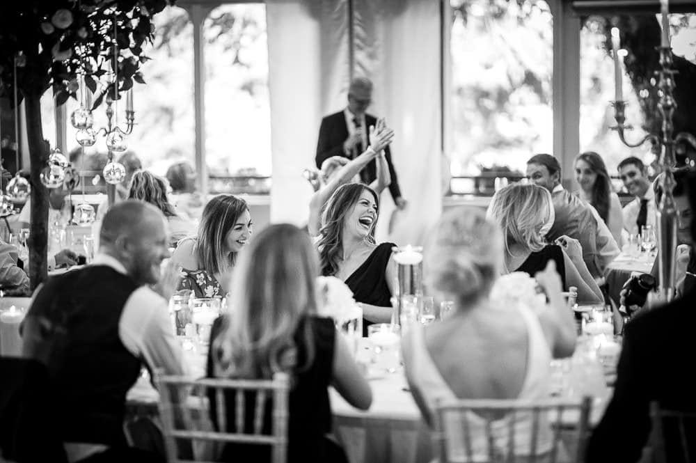 laughter at father of the bride speech