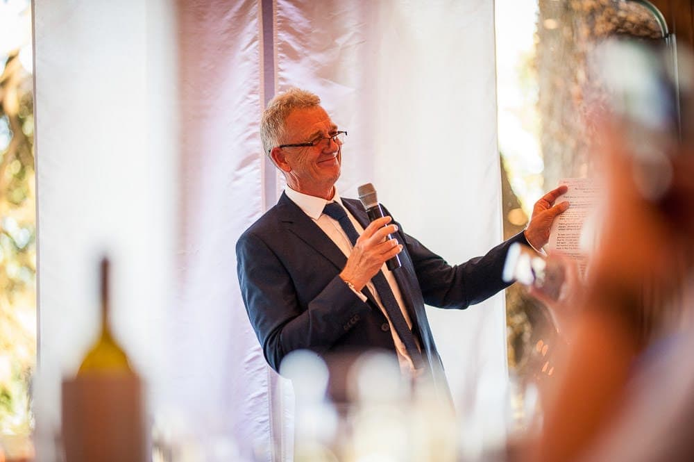 father of the bride speech at the mere
