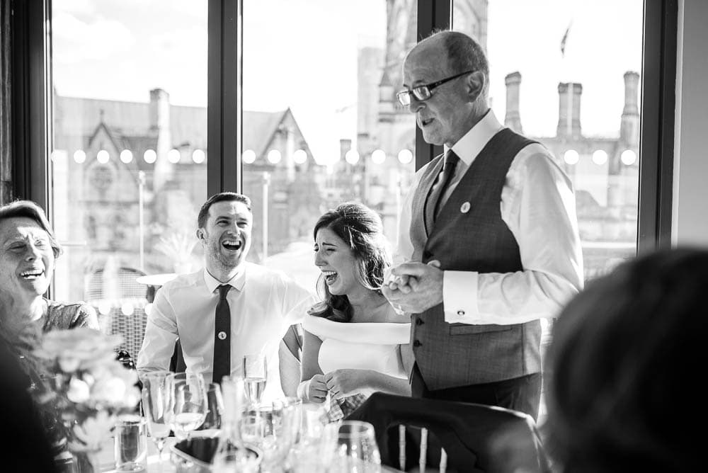 father of the bride speech at King street townhouse