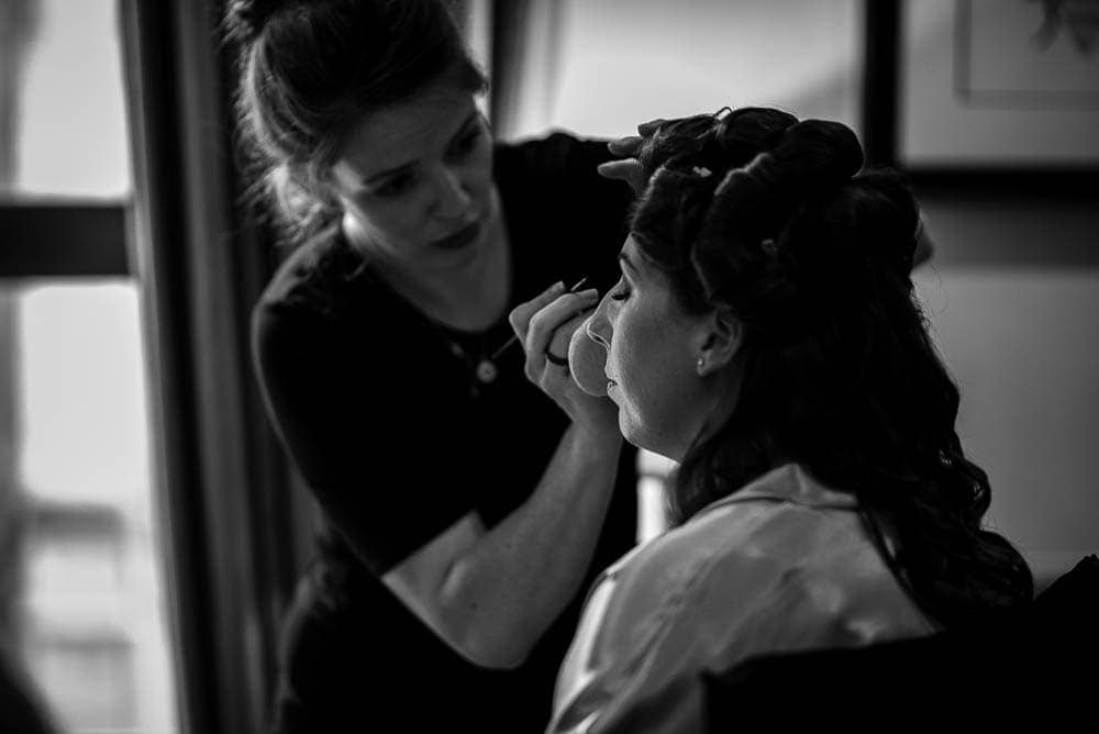 bridal make up King street townhouse